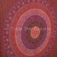 Mandala Tapestry Tapestries, Indian Wall Hanging, Hippie Decor, Boho Tapestries, Picnic Table Cloth, Twin Cotton Bedspread, Gypsy Wall Decor