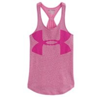 Under Armour Girls UA Qualifier Tri-Blend Tank