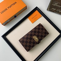 LV Louis Vuitton DAMIER CANVAS Curieuse WALLET