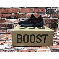 YEEZY BOOST 350 V2 Black Red Size 9.5