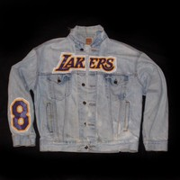Lakers Kobe Bryant Denim Jacket