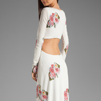 Pencey Standard Open Back Dress in Floral from REVOLVEclothing.com