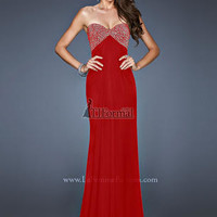 Prom Dresses 2014 - 18798 Long Red