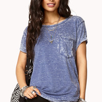 Acid Wash Slouchy Tee