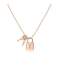 Products by Louis Vuitton: Lockit pendant, pink gold