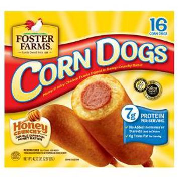 Foster Farms Chicken Corn Dogs 16 ct : Target