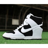 Nike Dunk Sky Hi Essential Inside Heighten woman Leisure High Help Board Shoes