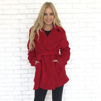 In The City Jacket in Red
