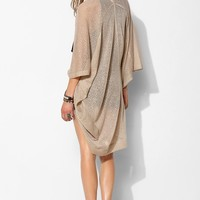 Ecote Seamed Cocoon Open-Front Cardigan - Urban Outfitters