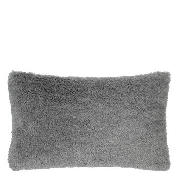 Mousson Graphite Throw Pillow by Designers Guild