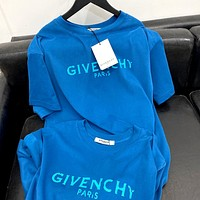 Givenchy 2020 New Printed Letter Round Neck Half Sleeve T-Shirt