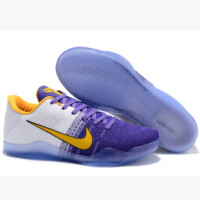 Men Kobe XI Weave Nike Basketball Grender Shoe Gradient Yellow