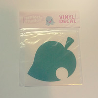 Animal Crossing New Leaf Vinyl Decal