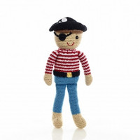 Pirate Pete Cotton Knit Fair Trade Doll