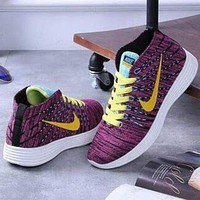 Nike Fashion Breathable Flats Sneakers Sport Shoes