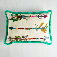 Boho Which Way to Radiance? Pillow by ModCloth