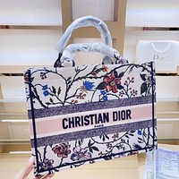 Dior new shopping bag classic fashion handbag shoulder bag