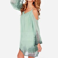 Amazon.com: SUNNOW Womens Long Sleeve V-neck Off Shoulder Chiffon Loose Casual Dress