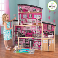 KidKraft Sparkle Mansion Dollhouse - 65826