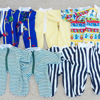 """Cabbage Patch Clothes, """"Liam at the Zoo"""", pajamas, pjs, sleeper, doll pajamas, fits 16"""" boy doll"""