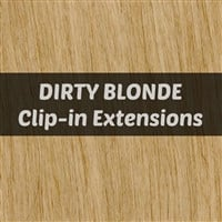 Dirty Blonde Clip-in Hair Extensions