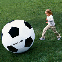 The Giant 40 Inch Personalized Soccer Ball - Hammacher Schlemmer