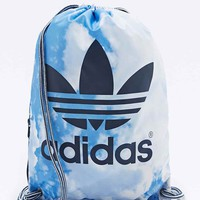 Adidas Cloud Print Gym Bag in Blue - Urban Outfitters