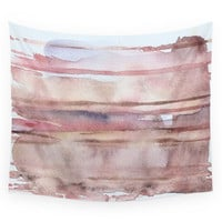 Society6 Elusive Strata Wall Tapestry