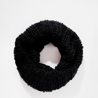 Pieces   Pieces Oversized Chunky Infinity scarf Scarf at ASOS
