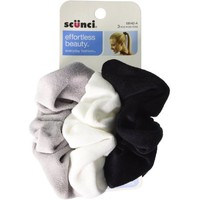 Scunci Effortless Beauty Velour Comfy Twister 3 ea - Walmart.com