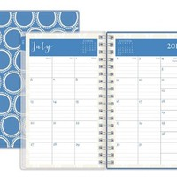 July 2015 - June 2016 Susy Jack Circles Clear Cover Weekly/Monthly Planner 3.625x6.125