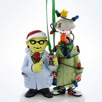 Disney Parks The Muppets Dr. Honeydew and Beaker Christmas Ornament Holiday New