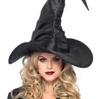 Witch Hat Costume (One Size,Purple)