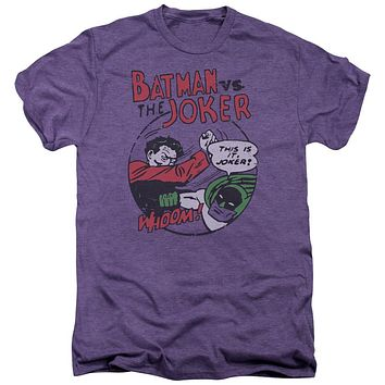 Premium Batman vs. The Joker Grudge Match Adult T-Shirt