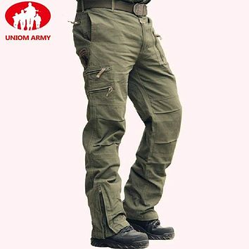 Army Men's Camo Military Style Camouflage Jogger Tactical Pants