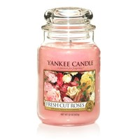 Fresh Cut Roses Candles | Yankee Candle