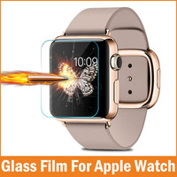New Premium Film 0.26mm Real Tempered Glass Screen Protector for Apple Watch 42mm 38mm Smart watch Accessories pelicula de vidro