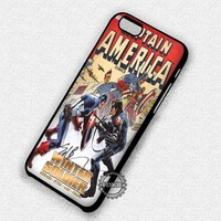 Winter Soldier Captain America The Avengers - iPhone 7 6 5 SE Cases & Covers