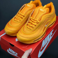 HCXX 19July 676 Nike Air Max Plus Tn Ultra Retro Max 97 Cushioning sneakers orange yellow