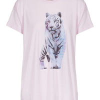 WILDFOX  Shine Bright Tiger Daisy Oversize-T-Shirt mit Print - What's new