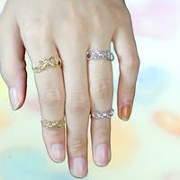 Tied up ribbon ring made with brass /toe ring/ layered ring/ knuckle ring/adjustable ring/ring Like wire