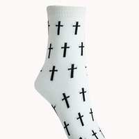 Cross Crew Socks