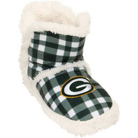 Green Bay Packers  Official NFL Flannel Sherpa Boots