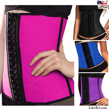 Waist Training Corsets Hot Shapers Body Shaper Waist Trainer Waist Cincher