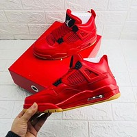 Air Jordan 4 Singles Day Best Quality Basketball Shoes