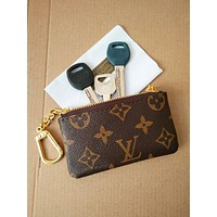 Louis Vuitton Monogram Canvas Key Pouch M62650 Tagre™