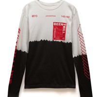 Been Trill Rarebreed Long Sleeve T-Shirt - Mens Tee - White