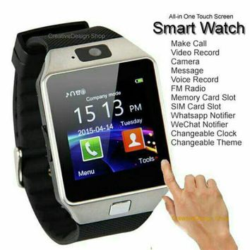 """""""Free Shipping!"""" New DZ09 Bluetooth Smart Watch for iPhone, Samsung, and Android!"""