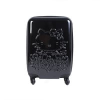 Hello Kitty Suitcase: Ribbon Black 18""