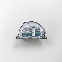 Camper Enamel Pin by The Bad Dads Club